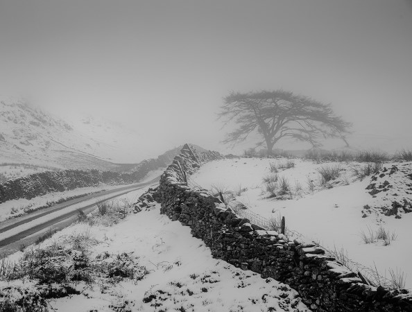 Kirkstone Pass - the struggle